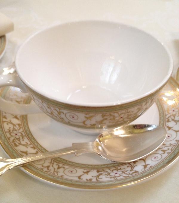 Ritz tea cup