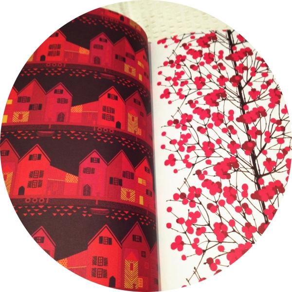wrap magazine Marimekko details
