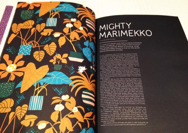 wrap magazine Marimekko