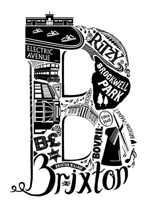 Brixton print by lucy loves this