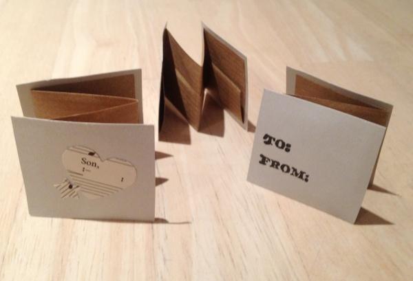 concertina DIY card making