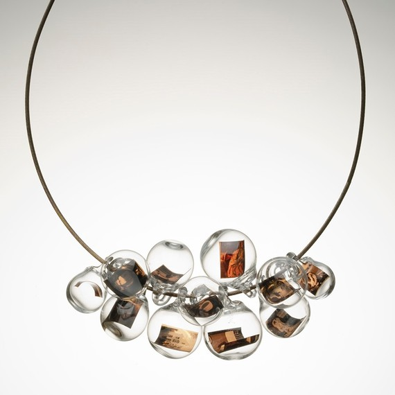 slice of life necklace by Melissa Schmidt