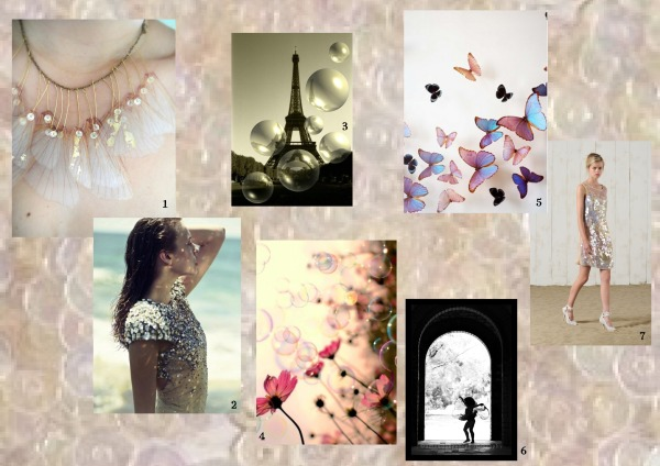 Iridedscent mood board
